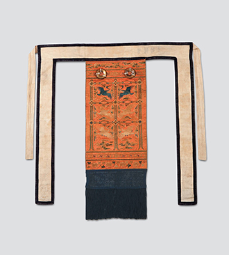 Husu, Ornamental Back Sash for Ceremonial Robe