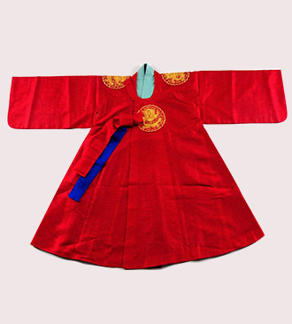 Red Dragon Robe for Men