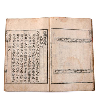 Records on Sacrificial Rite of National Shrine to Confucius